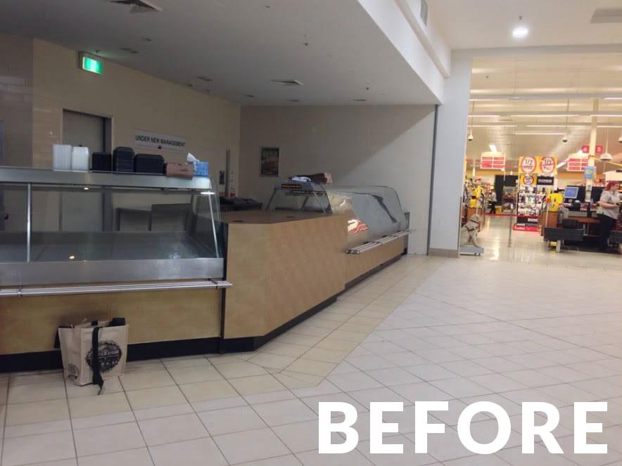 Laminate Interior Finishes – Before Image 04