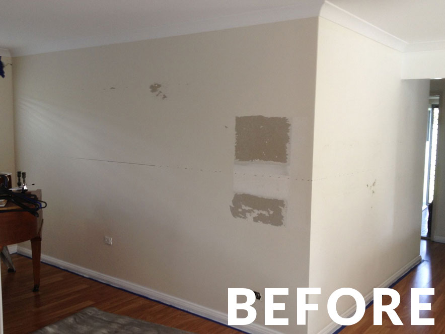 Laminate Interior Finishes – Before Image 03