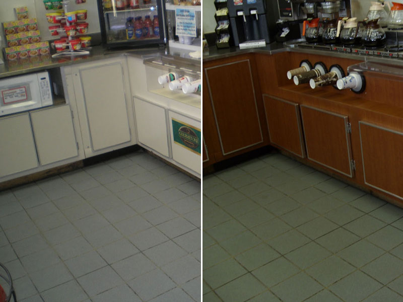 Cabinets Before & After Image